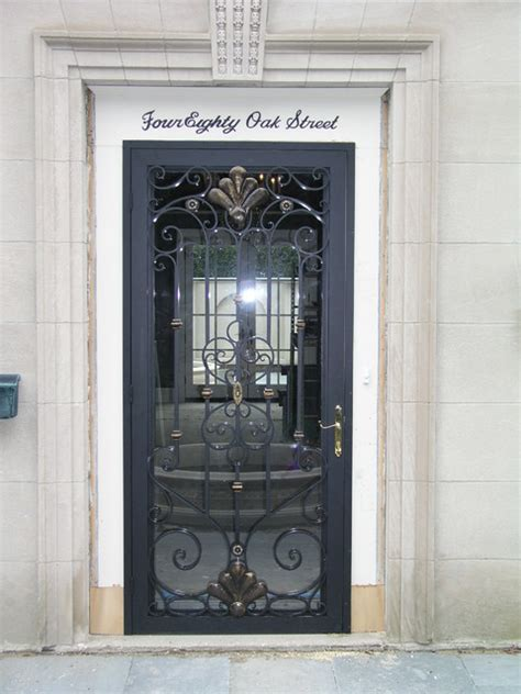 Exterior Doors Chicago Entry Doors Traditional Entry Chicago By Mueller Ornamental Iron Works Inc