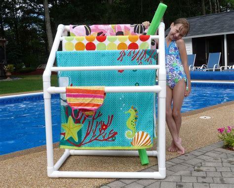 Pool Towel Rack Ideas by 94 Best Pool Ideas Images On Backyard Ideas
