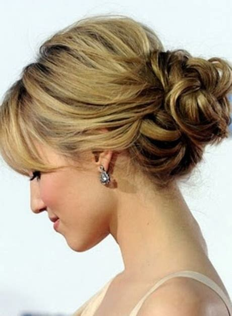 casual hairstyles for thick hair casual updos for long thick hair