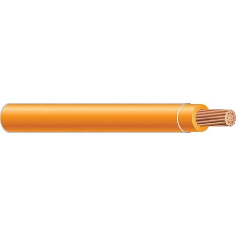 orange electrical wire southwire 500 ft 8 orange stranded thhn wire 23849312