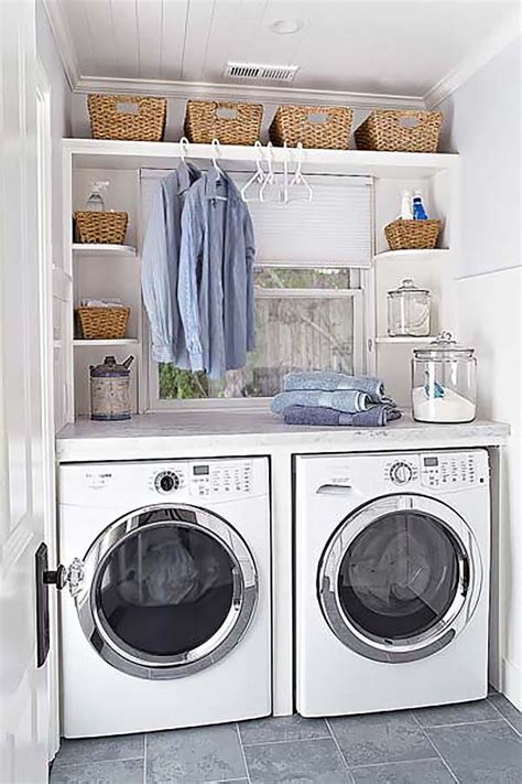 Small Laundry Room Storage Ideas Small Laundry Room Design Ideas 28 1 Kindesign