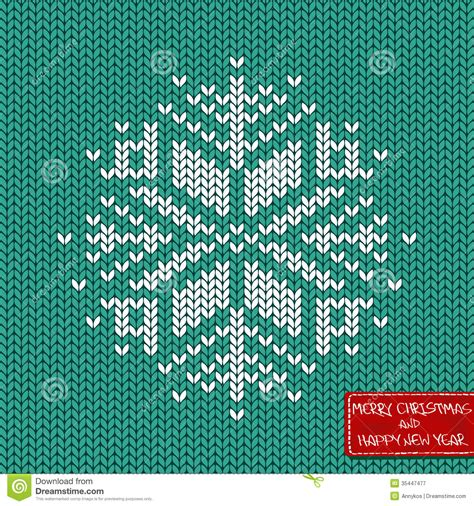 pattern card stock christmas and new year knitted seamless pattern or card