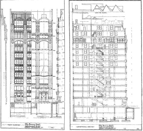 New American Home Plans by The Skyscraper Museum News Paper Spires Walkthrough