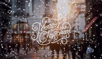 merry christmas snowing effect html css javascript