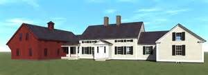 New England Farmhouse Plans by New England Farm House Plans House Plans