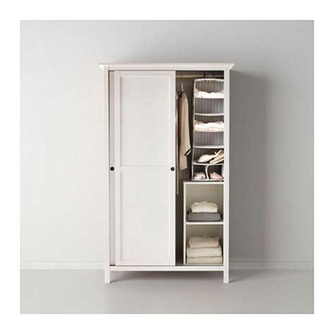 ikea hemnes sliding door cabinet hemnes wardrobe with 2 sliding doors black brown hemnes