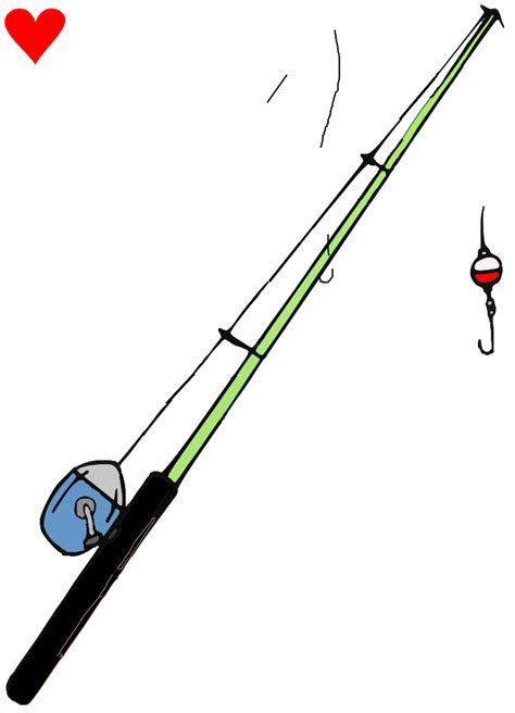 Rod Clipart by Fishing Rod Clipart Clipart Best