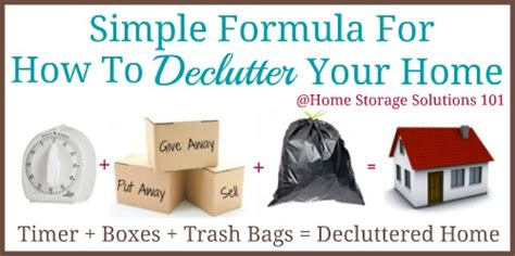 decluttered meaning things to declutter without any regrets
