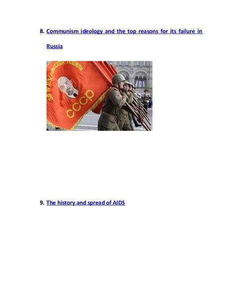 Top 10 Essay Topics by Top 10 World History Essay Topics