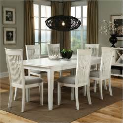 White Wood Dining Room Table White Dining Table At The Galleria