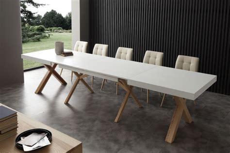 tavoli bianchi moderni tavolo leonardo 708 tavoli moderni allungabili tavoli