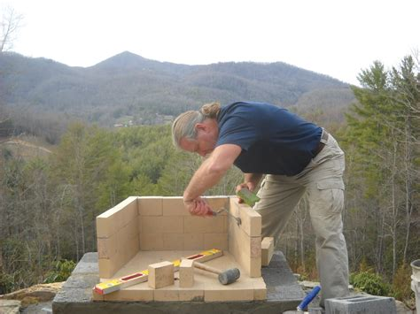 How To Build A Fireplace Outside by Stonetutorials Living Masonry
