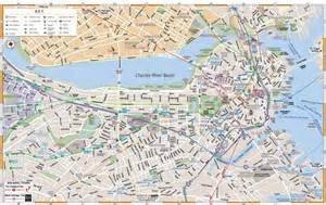 Boston Public Parking Map by Map Of Boston Massachusetts Interactive And Printable