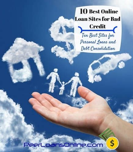 bad credit personal loan credit thirty3 top 10 list of bad credit personal loans