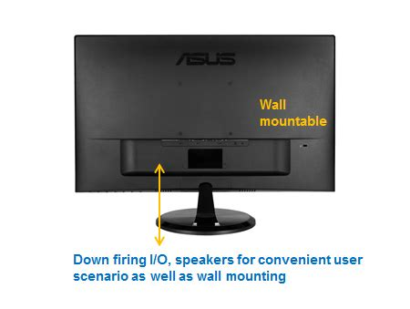 Led For Asus 140 Slim Wide asus vc239h slim bezel black 23 quot 5ms gtg hdmi widescreen led backlight lcd monitor ips