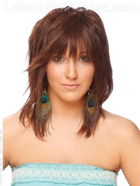 shoulder length textured hairstyles hairstyles on pinterest auburn highlights shoulder