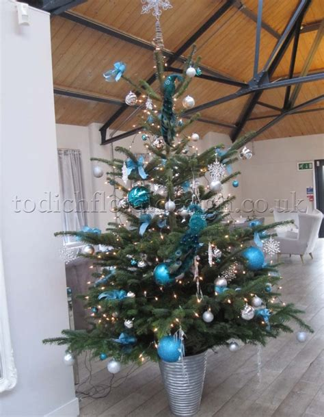decorated christmas trees london delivery real christmas