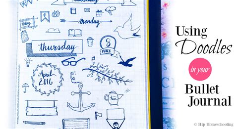 doodle how to get started using doodles in your bullet journal