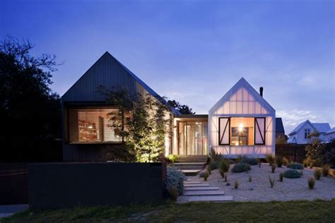 rural house with an access of exquisite contemporary style