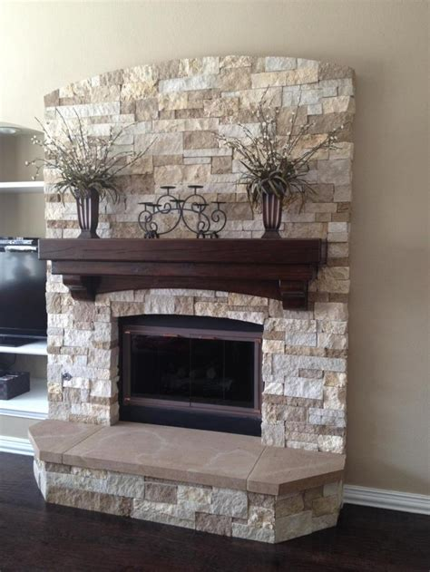 fireplace idea 34 beautiful stone fireplaces that rock