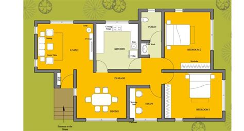 small house plan ch38 detailed building model and floor