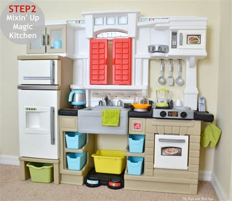 Magic Kitchen 2 by Step2 Mixin Up Magic Play Kitchen Review Boys And