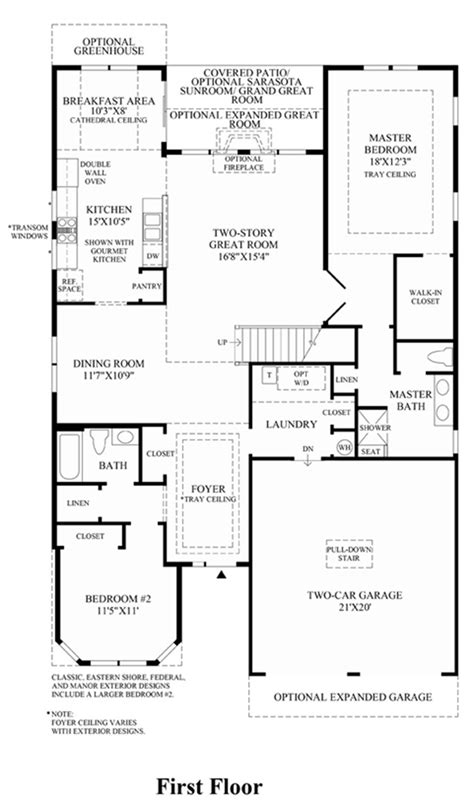 reading floor plans walden at regency at readington villas luxury new homes