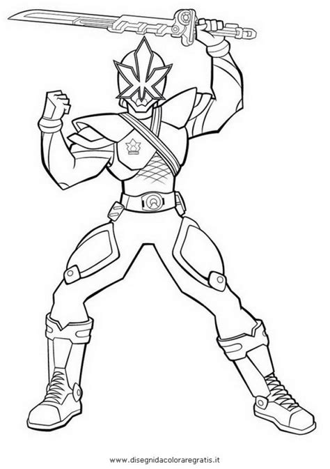 coloring pages power rangers samurai free power rangers samurai superheroes coloring page for