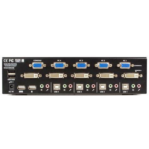 dvi kvm switch 4 dual monitor kvm switch 4 dvi vga usb kvm