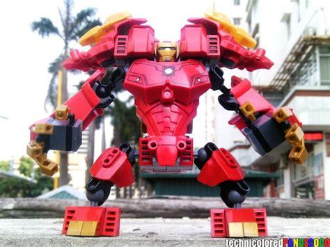 lego hulkbuster tutorial lego marvel minefiguers ides btw my lego iron man