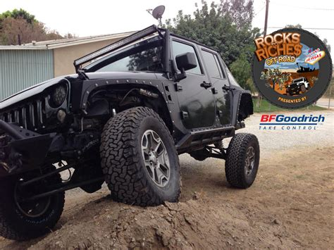 Jeep Ta Rocks To Riches By Bfgoodrich