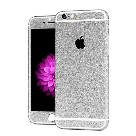 Iphone 7 à Strass by Sticker Autocollant Iphone 7 Int 233 Gral Apple Bling Paillettes Strass Diamant Avant Arri 232 Re