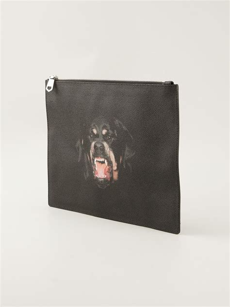 Givenchy Antigona Gunmetal Set Clutch 1 givenchy antigona rottweiler print clutch in black for lyst
