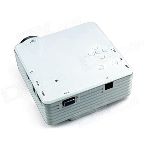 Proyektor Gp7s moonsun gp7s mini led projector w hdmi vga usb sd white free shipping