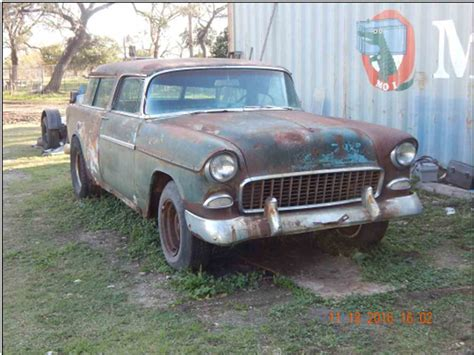 nomad car 1955 1955 chevrolet nomad for sale classiccars com cc 933791