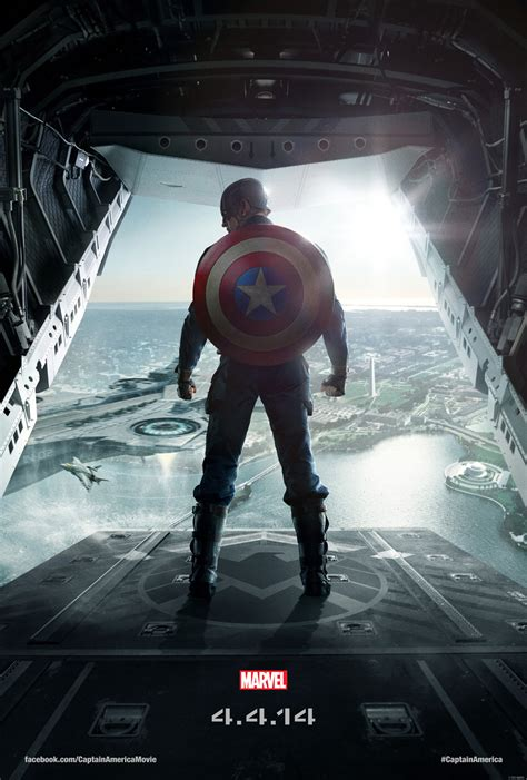 film captain america marvel captain america the winter soldier new movie poster