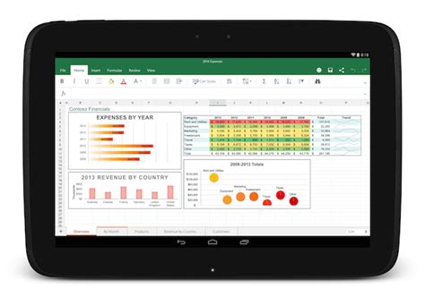 android landscape layout exle microsoft s office for android tablet apps arrive today