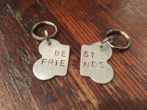 best tags best friends bone tag set handsted two bff tags