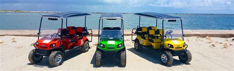 Cars And Carts Port Aransas by Golf Cart Rental Rates Silver Sands Golf Cart Rentals