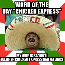 Spanish Word Of The Day Meme - 1000 images about mexican word of the day on pinterest
