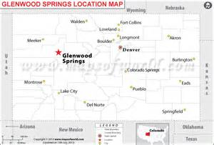 where is glenwood springs located in colorado usa