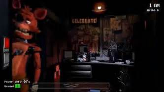 Five nights at freddy s what does the foxy say youtube