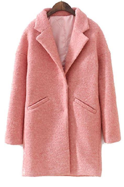 light pink wool coat pink boyfriend coat coat nj