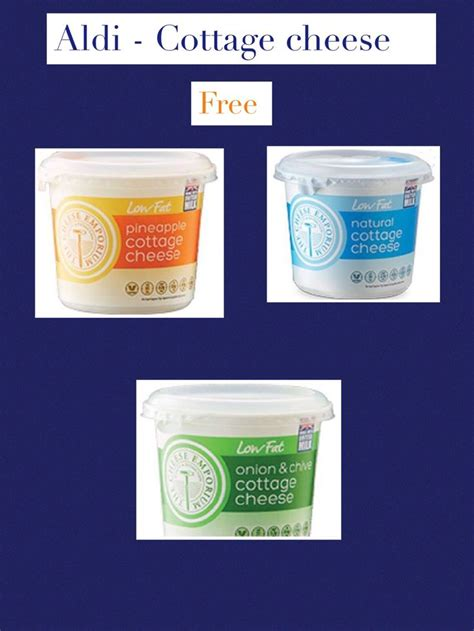 aldi cottage cheese the 11 best images about slimming world aldi on