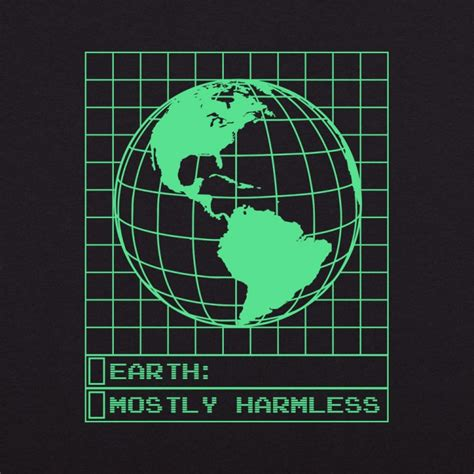 mostly harmless t shirt 6 dollar shirts
