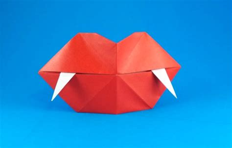 Origami Teeth - fangs steve biddle gilad s origami page