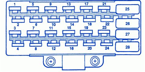 96 grand fuse box diagram 96 grand fuse box diagram fuse box and wiring