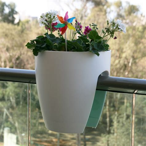 greenbo railing planter the green head
