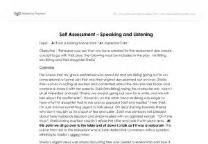 Sample Self Assessment Essay Image Gallery Self Evaluation Examples