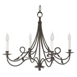 Wrought Iron Kitchen Lighting Black Color Rustic Cast Iron Chandeliers With Candle Holder For Kitchen Or Dining Room Lighting